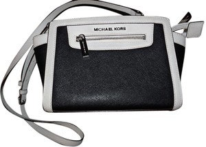 Michael Kors Selma Messenger Saffiano Leather Cross Body Bag
