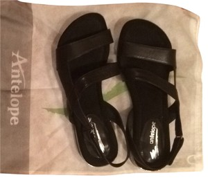 Antelope Black Sandals