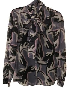 Diane von Furstenberg Top Pink, purple, black