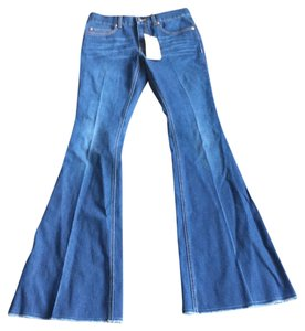 Gucci Flare Leg Jeans-Distressed