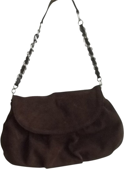 Ann Taylor LOFT Suede Handbag Shoulder Bag
