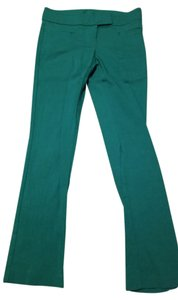 The Limited Straight Pants Green