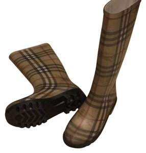 Burberry classic check print Boots