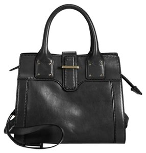 Chloé Chloe Diane Crossbody Leather Satchel in Black
