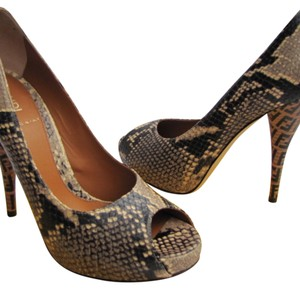 Fendi Animal Print Pumps