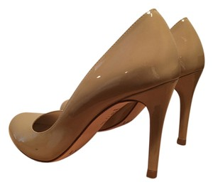 L.K. Bennett Leather Taupe Pumps