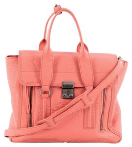 3.1 Phillip Lim Leather Satchel in Pink