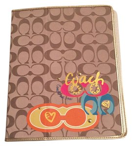 Coach iPad case for first generation iPad