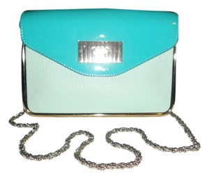 Chloé Chloe Sally Colorblock Chain Emerald Shoulder Bag