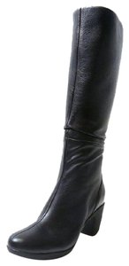 Clarks Lucette Coco Waterproof Dress Black Boots
