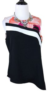 Calvin Klein Top black white pink orange