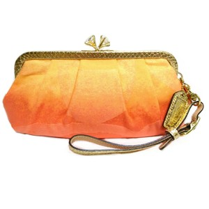 Coach Ombre Orange Clutch