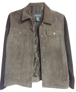 Relativity brown Leather Jacket