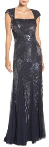 Adrianna Papell Ball Gown Sequin Mermaid Dress