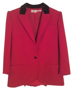 Valentino Red/black Blazer