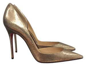 Christian Louboutin Platinum Pumps