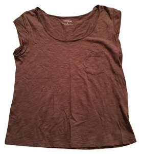 Express T Shirt Brown