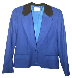 Pendleton cobalt blue and black Blazer