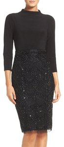 Adrianna Papell Sequin Sheath Jersey Dress