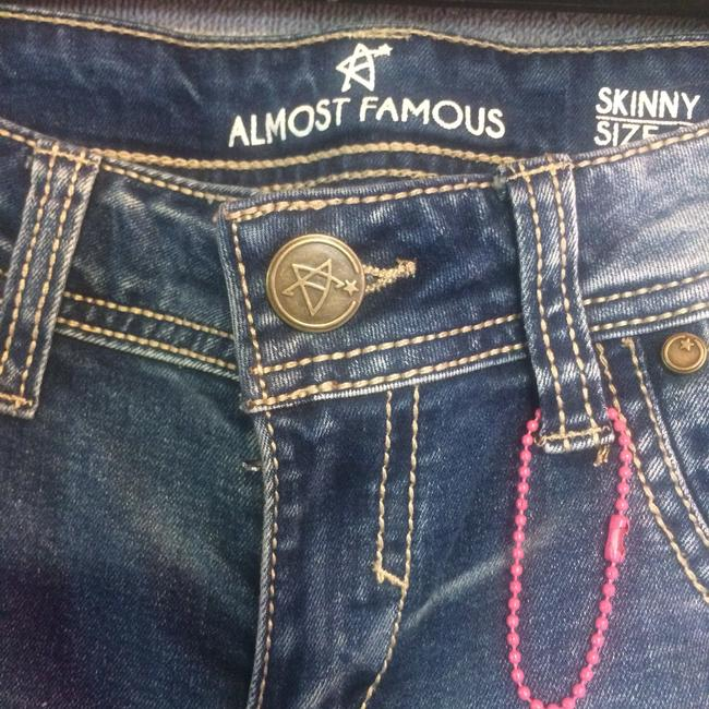 Almost Famous Clothing Skinny Jeans-Distressed Image 1