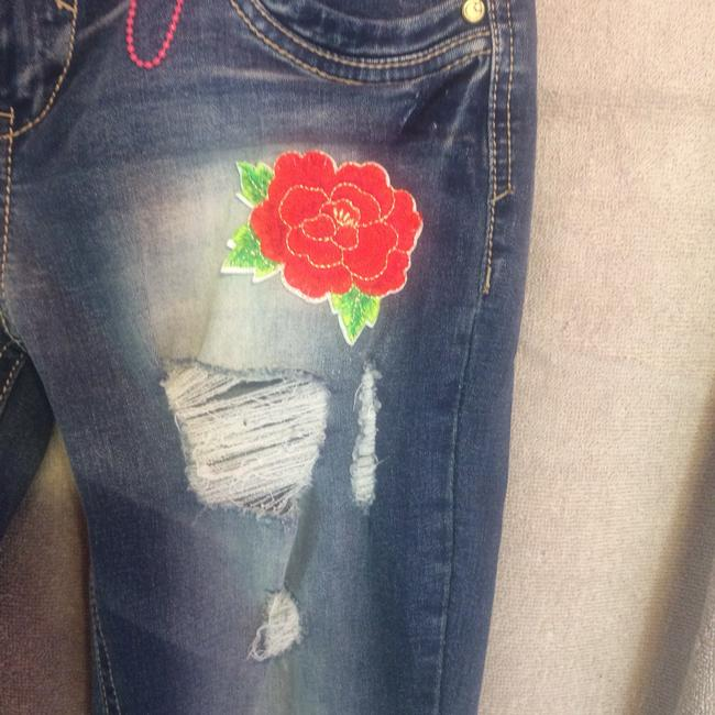 Almost Famous Clothing Skinny Jeans-Distressed Image 2