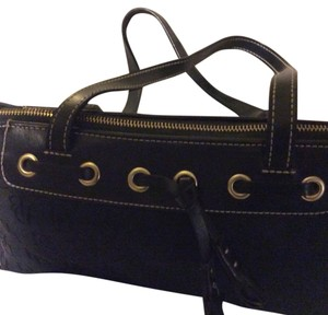 Dooney & Bourke Tote in Black with gold tone hardware