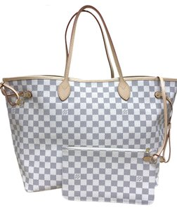 Louis Vuitton Lv Damier Azur Neverfull Gm Shoulder Bag