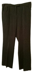 Liz Claiborne Pinstripe Boot Cut Pants Black