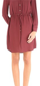MICHAEL Michael Kors short dress Merlot on Tradesy