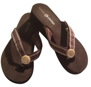 Lindsay Phillips Brown Sandals