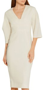 Lela Rose short dress Ivory Burberry Chanel on Tradesy