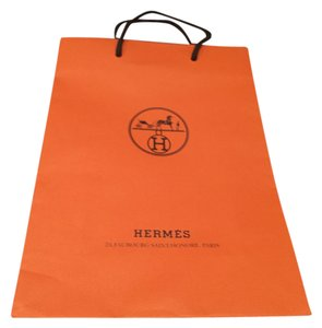 Hermès Hermes Orange Shopping Bag 3.5 x 8 x 1125