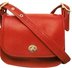 Coach Saddle Flap Prairie Iphone Plus Cross Body Shoulder Bag