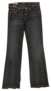 7 For All Mankind Mens Denim Trouser/Wide Leg Jeans-Dark Rinse
