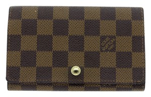 Louis Vuitton Louis Vuitton Ebene Damier Bi-Fold Wallet N61730