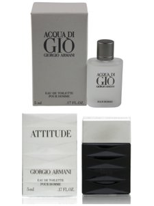 Giorgio Armani Giorgio Armani 2 Mini Perfume Set For Men