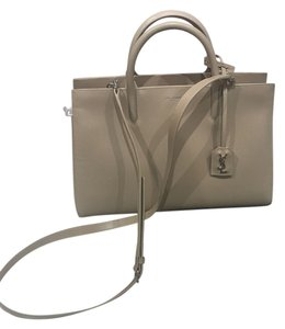 Saint Laurent Satchel in light beige