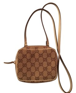 Gucci Ggcanvas Minimessengerbag Cross Body Bag