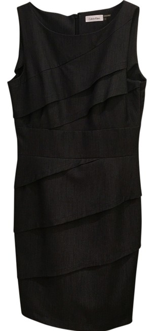 Item - Dark Gray Mid-length Cocktail Dress Size 8 (M)