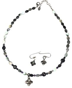 Barse Barse Necklace and Earring Set