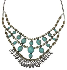Lucky Brand Lucky Brand Drop Bib Necklace