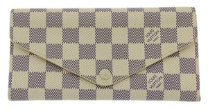 Louis Vuitton Louis Vuitton Damier Azur Canvas Josephine Wallet N63545