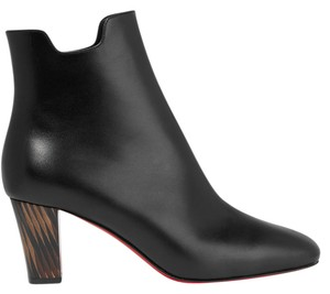 Christian Louboutin Tiagada 70mm Cl New Ankle Black Boots