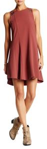 Free People short dress Red Baby Love Mini Shift on Tradesy