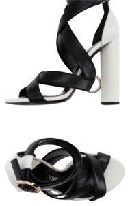 Tom Ford black and white Sandals