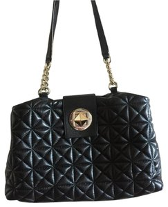 Kate Spade Quilted Pebbled Leather Shoulder Bag