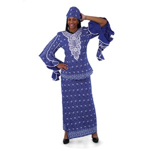 Boutique 9 Nubian Queen Luxury Skirt Set: sizes from 12 to 26.