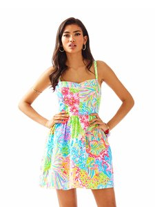 Lilly Pulitzer short dress Multi Lovers Coral Lilly Lilly P Pulitzer on Tradesy