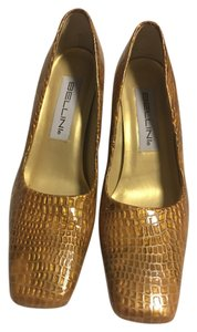 Bellini Gold Pumps