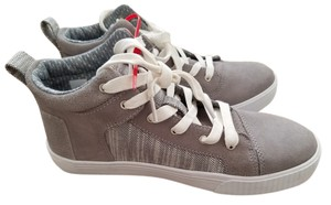 TOMS Sneaker High Top gray & white Athletic
